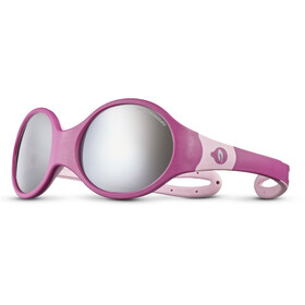 Julbo Loop L Spectron 4 Sunglasses Kids fuchsia/rosa/grey flash silver